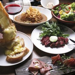 お洒落な個室ビストロでいつもよりちょっと贅沢なお食事を楽しみたい方におすすめのコースです