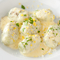 手打ち 『ルーコラのニョッキ リコッタチーズのレモンクリームソース』