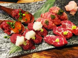 ★今話題沸騰中の肉寿司がなんと食べ放題!!さらに飲み放題が付いてお得なこのお値段★