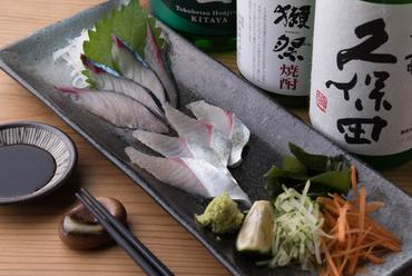 長崎県産の「ハーブ鯖」を使った『天然活サバ刺』