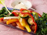 新鮮な旬野菜を味わう『Shimamura的幸せの方程式 3種の調理法の彩り 菜園風』