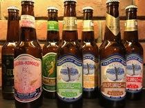 秋田・田沢湖の地ビール各種