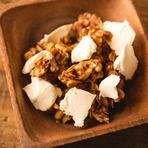 スモーククリームチーズとキャラメルナッツ