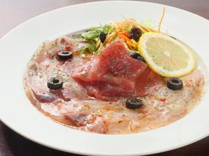 おすすめ鮮魚3種を贅沢に。『本日のカルパッチョ』