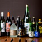 気軽に飲める大衆的なお酒が多いのも嬉しいところ。コースには120分の飲み放題を良心的な値段で付ける事ができます。日本酒は地元の『雅山流』がお店のイチオシ。