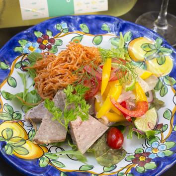 【新年会・歓送迎会プラン】ルーチェのお料理充実プラン