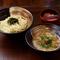鷹子店と砥部店のおすすめ限定メニュー『豚しゃぶつけ麺(二玉)』