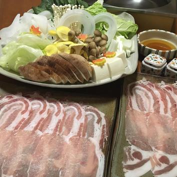 マテラ豚の旨味を最大限に引き出す出汁しゃぶコース 6500円