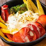 グリル野菜ラクレット