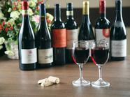 常時12種~13種取り扱い。飲みやすさ重視の『赤ワイン各種』