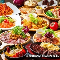 利益度外視!宴会を彩る牛ハラミ肉の鉄板焼きや名物の雲丹のせ和牛などがついた大満足の宴会コースです!