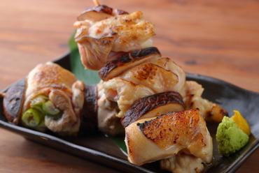 【特大名物】大山地鶏のやきとり番長~手作り岩塩&秘伝のタレ~