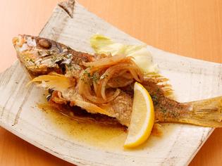 釣り好きが高じて、一尾を丸々使った「魚料理」が好きになる