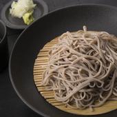 日本蕎麦好きなゲストを招いての会食に相応しい、質の高い店