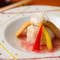 ふっくら・もっちりとした食感に、優しい和出汁の餡が絡み合う『穴子と蓮根もち』