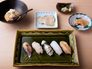氷見の魚だからこそ味わえる寿司を目指しています