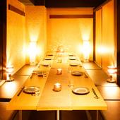 プレミアムな日本酒が揃う飲み放題と共に過ごす、楽しい宴会