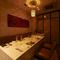 六本木の隠れ家的な優美&静かな個室空間は、接待やご会食に好評