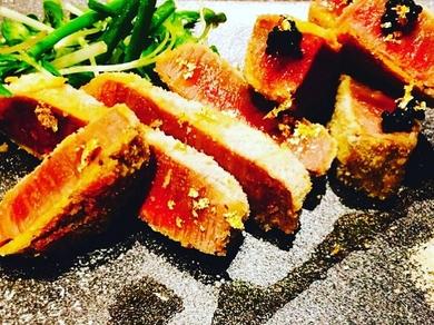 松阪牛シャトーブリアンの極上焼レアカツ