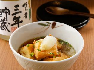 焼き鳥が美味しいのは当たり前。だからこその『揚げだし豆腐』