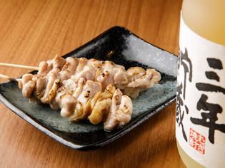 『もも』には、熊本の銘柄鶏「肥後赤鶏」で旨味たっぷり