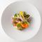 コースの温かい料理『季節野菜のエチュベ オータムトリュフの薫り』
