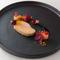 冷製料理『フォアグラのコンフィ 3週間熟成 秋の果実と』