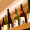 常時100種類以上の和酒を取り揃え