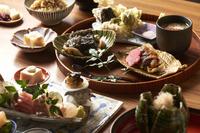 『季節の豆皿八寸』~和食の技法を存分に取り入れた一皿~