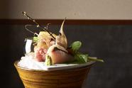 季節の魚をお酒と共に『旬の魚をお任せで五種』