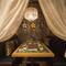 彩り鮮やかなフラワーテーブルが可愛い、天蓋付きの半個室