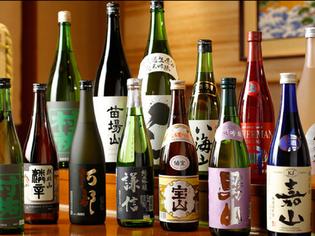 日本酒と共に、新鮮な魚介も味わっていただきたい