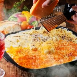 【仙台駅3分♪個室 居酒屋】5種の味から選べるチーズフォンデュコースです♪女子会にもおすすめ!!