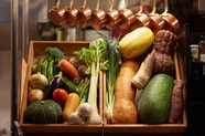 その時々の旬菜を野菜ソムリエが厳選する『京野菜焼き』