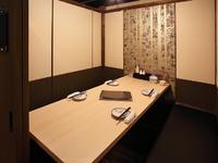 個室というプライベートな空間を楽しんで!