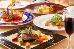 ライトにフレンチのコースを楽しめるお料理コース。engawaならではの優しい時間をお楽しみ下さい。