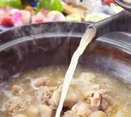地元博多の一番どりを使った『水炊きご膳』