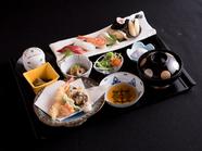 美味しいお寿司に満足『寿司と天ぷら御膳』