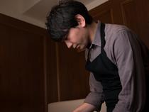 お客様がリラックスできるような、心温まる一皿を提供
