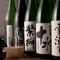 日本酒は、定番6種類とこだわりの季節限定品をご用意