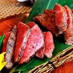 小豆島オリーブと瀬戸内の温暖な気候に育まれた「黒毛オリーブ牛」の選び抜いたお肉を炭火焼きで。抜群の火入れで、最高級に美味しい状態に仕上げてくれます。お得な価格でステーキを食べ比べ。