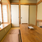 6名まで利用可能な純和風の個室