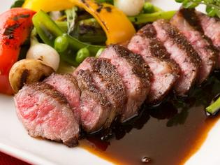 肉質が魅力の「淡路椚座牛」。兵庫県の良質な食材の数々