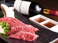 美味しいお肉をいっぱい食べられるコース料理に飲み放題をつけて