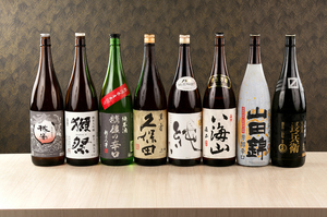 蔵元直送。日替わり『日本酒』