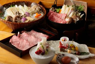 """料理も雰囲気も、まさに""""別格""""。離れを予約した者だけがありつける上質な『すきやきコース』"""
