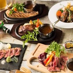 人気の厳選肉寿司10種がなんと食べ放題!!飲み放題付のお得なコースが新登場!