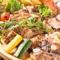 肉寿司とビーフタッカルビの食べ放題がついたコース 平日限定食べ放題4980→3980円 週末コース4980→4480円