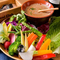 季節野菜とバーニャカウダ(1.5~2人前)