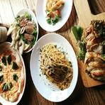 イタリアンを中心とした創作料理のコースです。